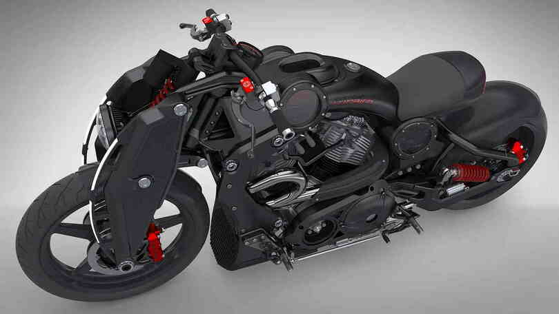 Combat Motorcycles Wraith - Jenseits von normal