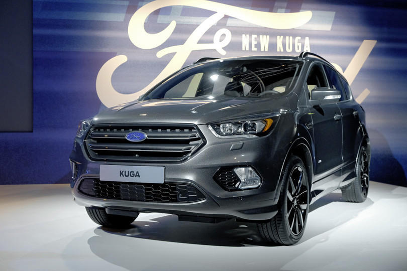 genf 2016 ford kuga wird berarbeitet motor traffic. Black Bedroom Furniture Sets. Home Design Ideas