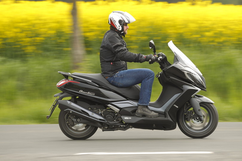 Test Kymco New Downtown 350i: Tugendhaft