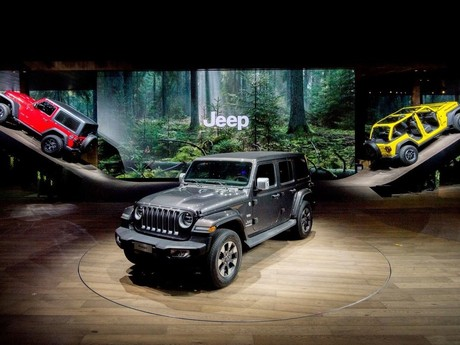 Jeep gewinnt ,,Creativity Award'' für Messestand in Genf