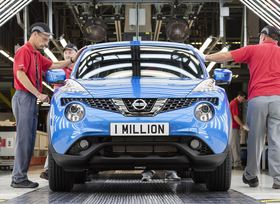 Nissan baut eine Million Juke