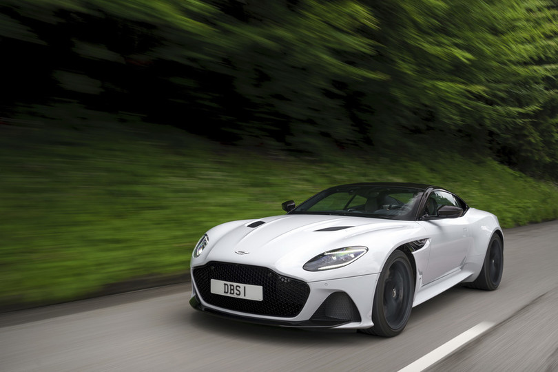 Test Aston Martin DBS Superleggera: Absolut stark