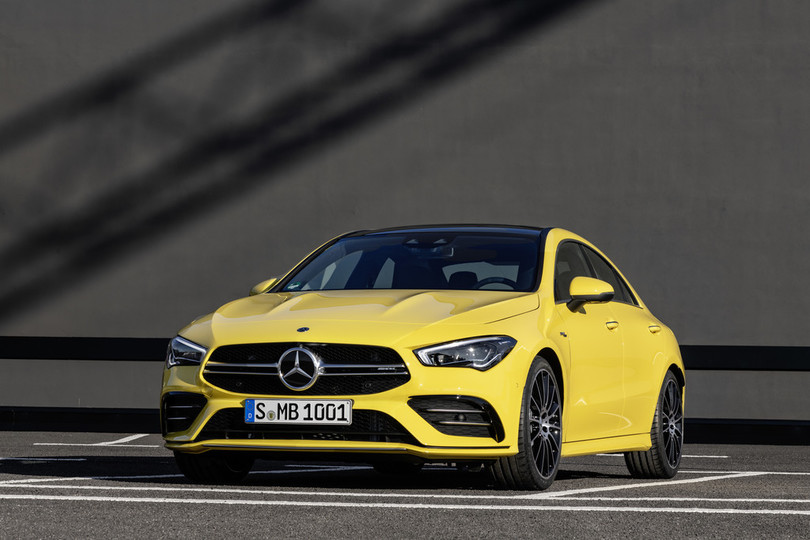 New York 2019: Mercedes-AMG CLA 35 4Matic - the fastest entry