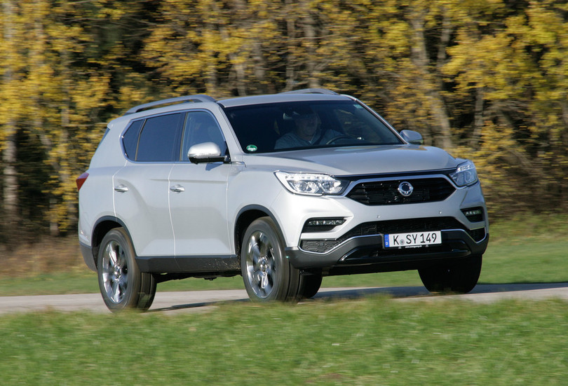 Ssangyong offers fully equipped Rexton