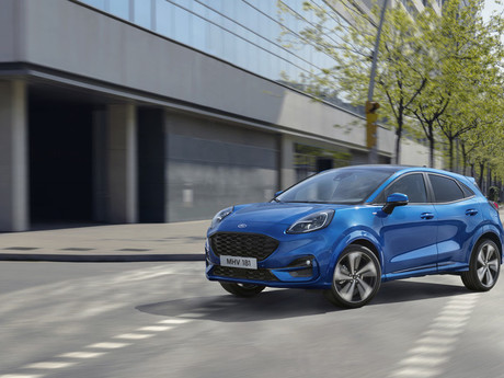 Ford Puma crossovert ab Anfang 2020