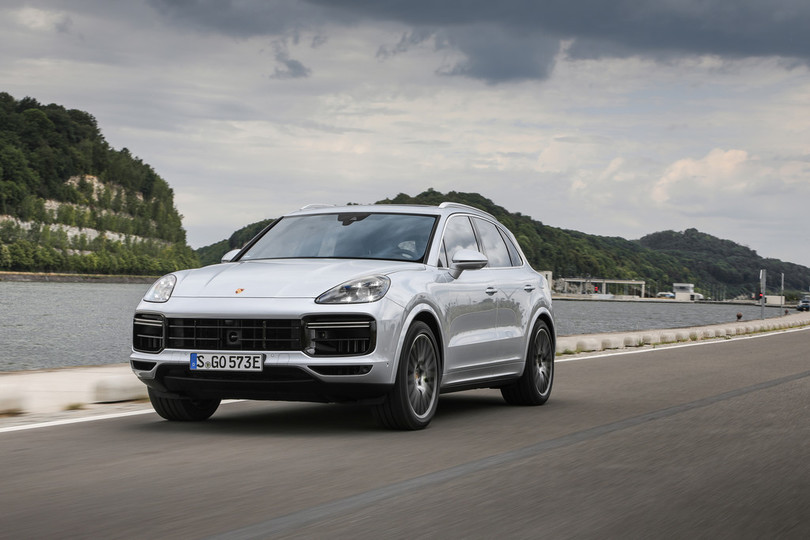 Fahrvorstellung Porsche Cayenne Turbo S E-Hybrid: Alternativer Dampfhammer