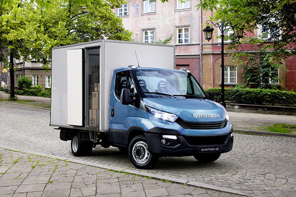 Quantron macht Iveco Daily lokal emissionsfrei