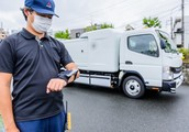 Fuso e-Canter Sensor Collect folgt dem Bediener